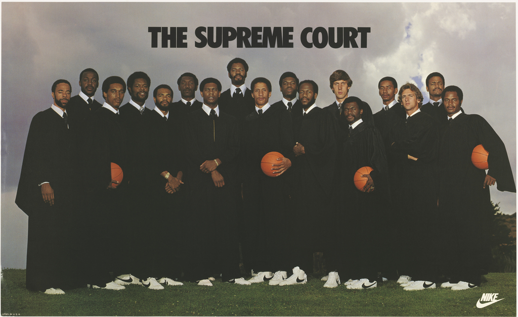 barrera cola banco  Poster, The Supreme Court, 1977–79 | Objects | Collection of Cooper Hewitt,  Smithsonian Design Museum