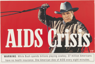 Poster, AIDS Crisis