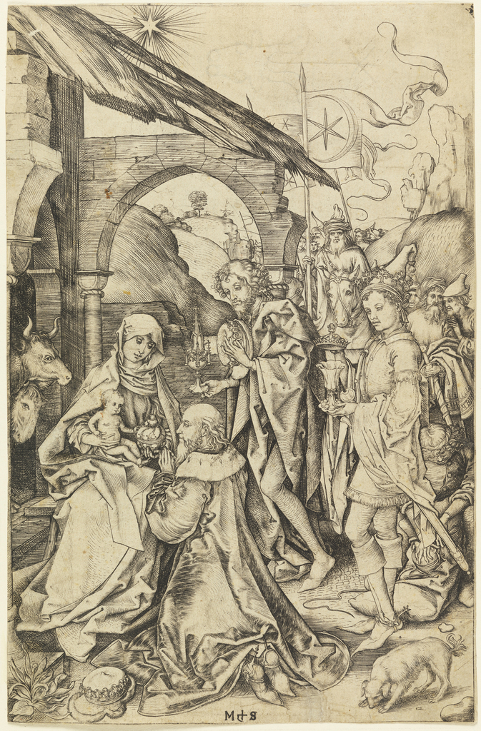 Print, The Adoration of the Magi