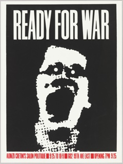 Poster, Ready for War