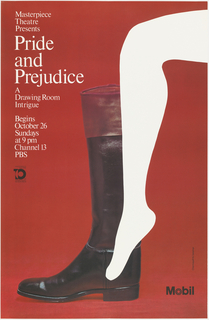 Poster, Mobil, Masterpiece Theatre Presents Pride and Prejudice, 1980–81