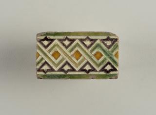 Tile/tile Fragment, 17th century