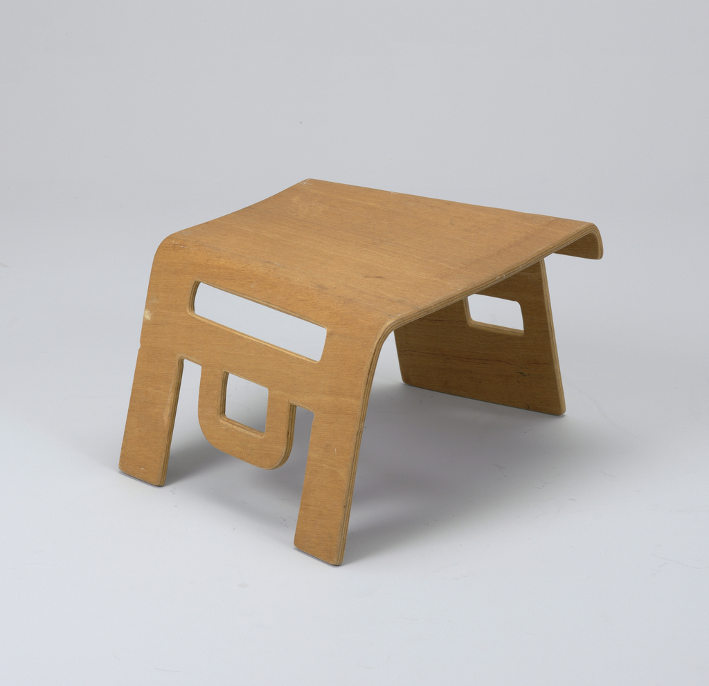 Prototype of linking child's stool.