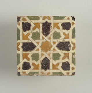 Tile/tile Fragment, 17th century