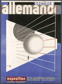 Poster, Section Allemande [German Section], 1930