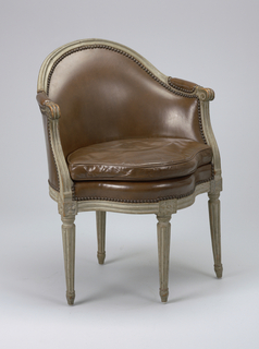 Armchair (France), mid-18th century