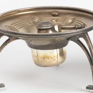 Tea Kettle With Burner (Germany), ca. 1905