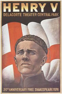 Poster, Henry V, 1976