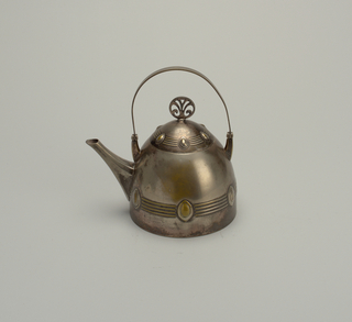 Tea Kettle With Burner (Germany), ca. 1905
