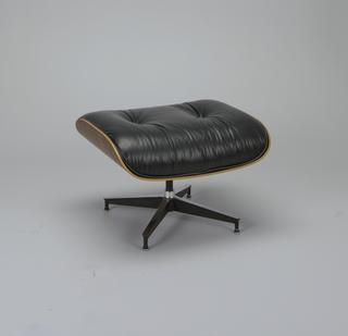 No. 670 (chair),  No. 671 (ottoman) Chair And Ottoman
