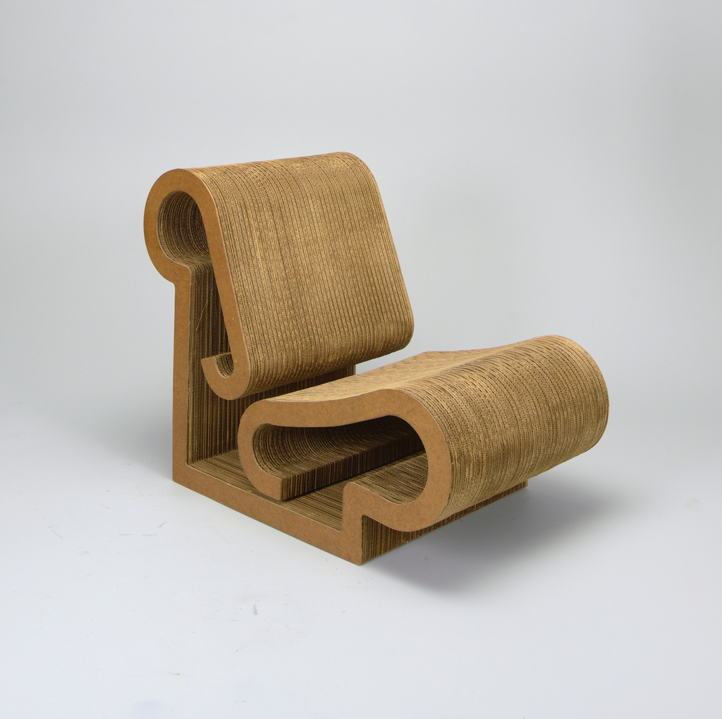 Corrugated Cardboard Furniture Easy Edges Lounge Chair Ca 1971 Objects Collection Of Cooper