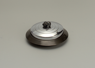Candy Dish, Base, And Cover, 1930–40