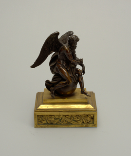 Winged figure Figure
