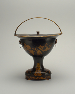 Coal Scuttle And Cover