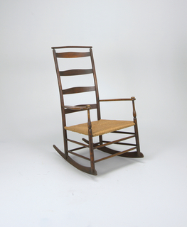 Shaker no. 7 rocking chair Rocking Chair, 1878–1910