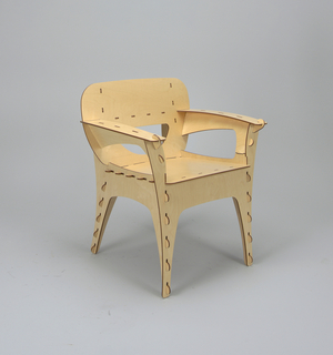 Puzzle series Armchair, 1991