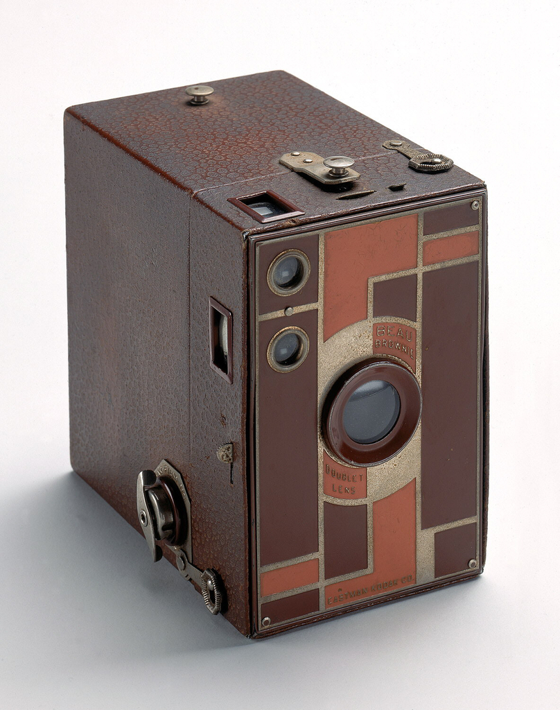Beau Brownie Camera And Case
