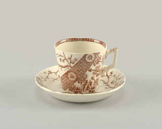Rangoon Cup And Saucer