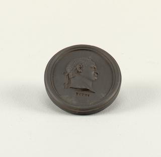 Flavius Sabinus Vespasianus Titus Portrait Medallion
