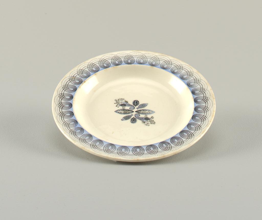 """Persephone"" pattern Plate, ca. 1930–40"
