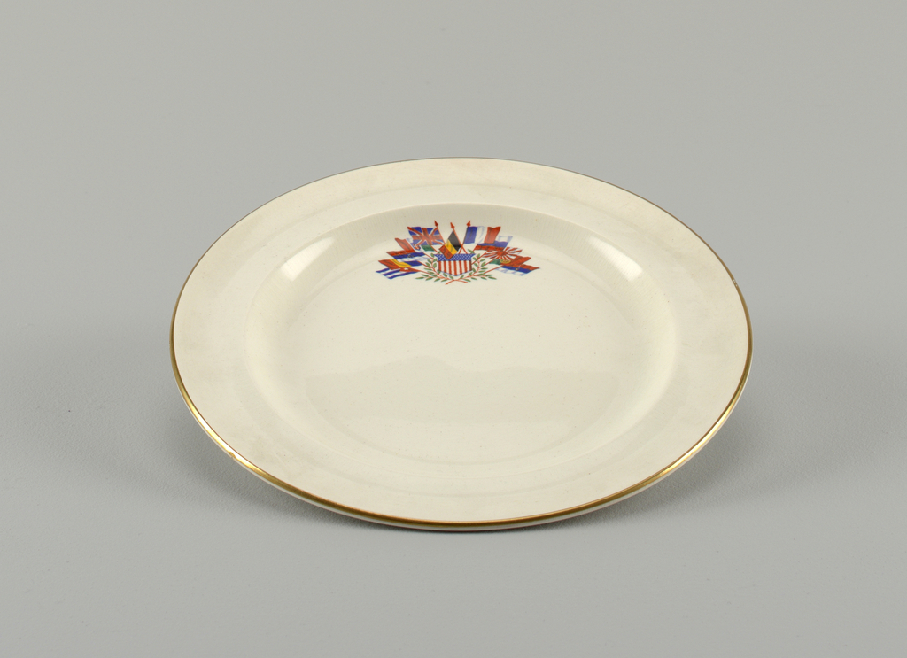Liberty Plate, Salad, 20th century