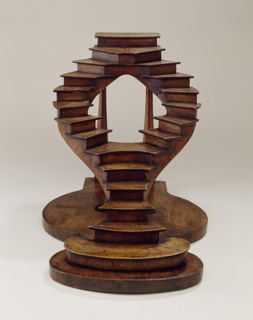 Curved Staircase Model In The French Style