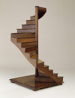 Staircase model in English style.