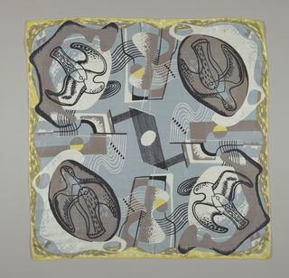 Square, Bird and Stone, 1947
