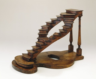 Curved Staircase Model In The French Style, ca. 1850