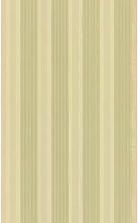 Vertical stripe design, dark green bands with light green stripes, alternating with light green bands with dark green stripes.