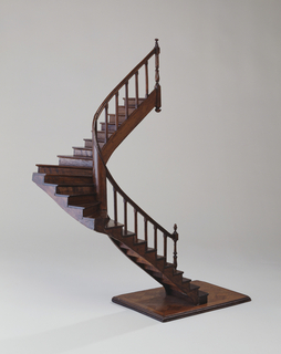 Two-level staircase model.