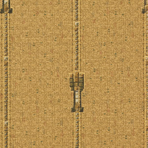 Medallion stripe, small-scale motif on vertical stripe. Printed in colors on patterned ground.