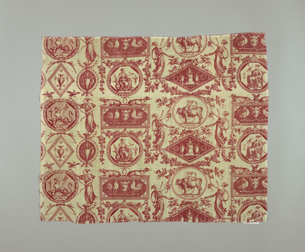 Fragment, Medallions et cartouches a l'antique