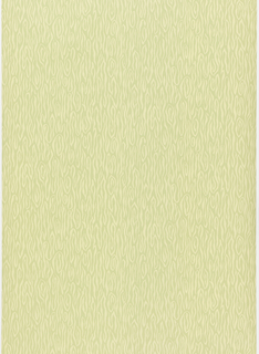 Woodgrain printed in yellow on lime green.