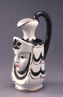 Woman with Headdress Pitcher