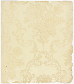 Sidewall - Sample, Album of Authentic Reproductions of Famous Historical Wall Papers