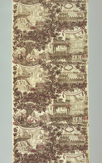 Textile, Funeral of Lord Nelson