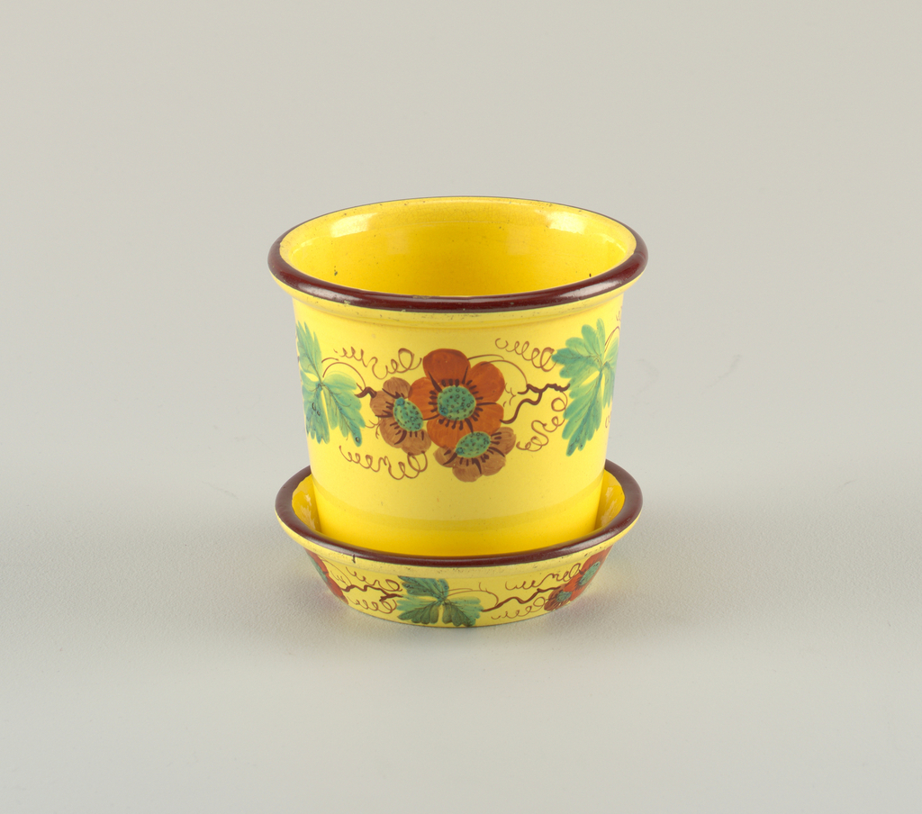Flower Pot And Stand (England)