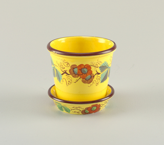 Flower Pot And Stand (England), 18th–mid-19th century