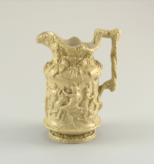 """Bacchanalian"" Jug, after Nicholas Poussin (in National Gallery)"