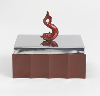 Dolphin Box And Cover, 1930–40