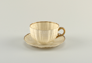 Cup And Saucer (Ireland), after 1891