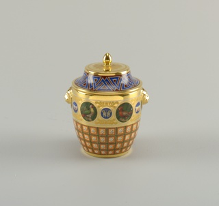Sugar Bowl And Lid (France)