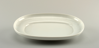 Large oval platter.