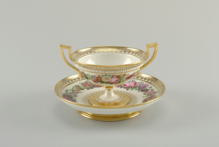 Cup and Saucer in Neoclassical Style Cup And Saucer, 1832