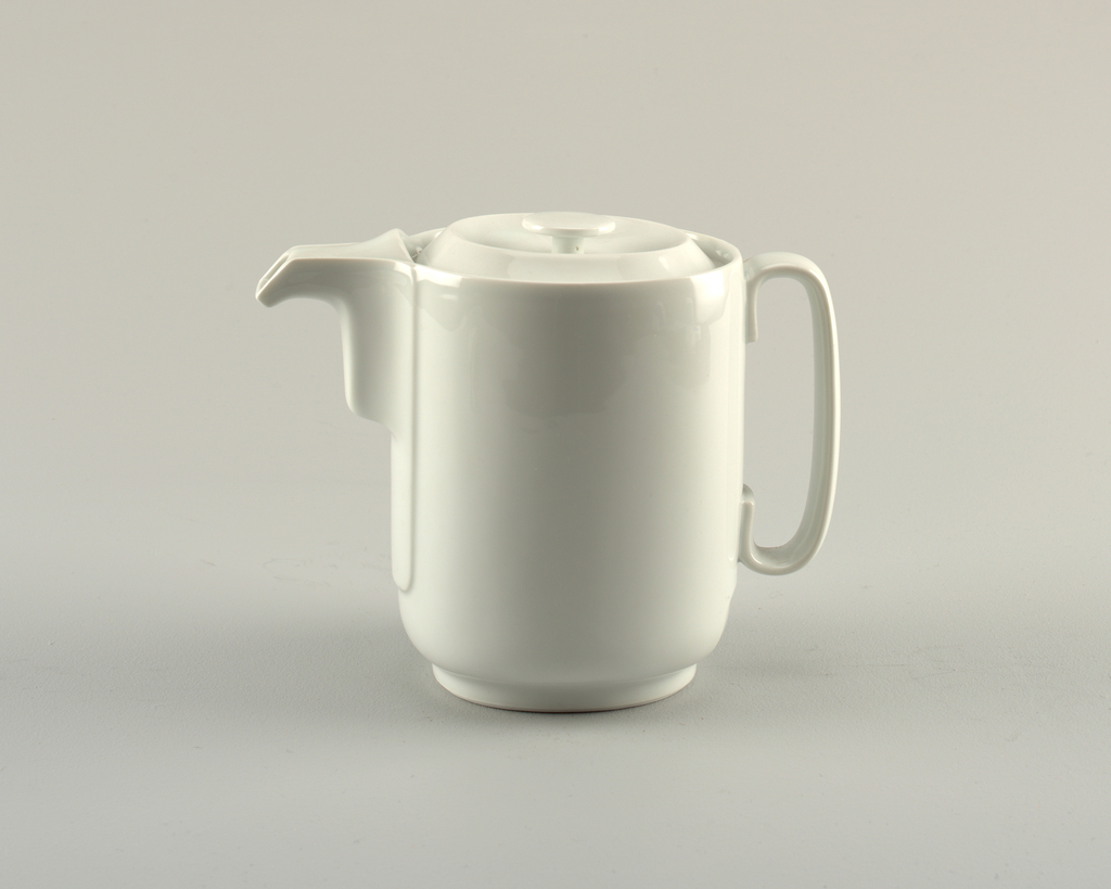 Coffeepot And Lid (France), ca. 1988