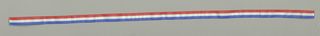 Designed for the Silver Jubilee of Elizabeth II of Great Britain. Three equal horizontal stripes of red, white and blue.