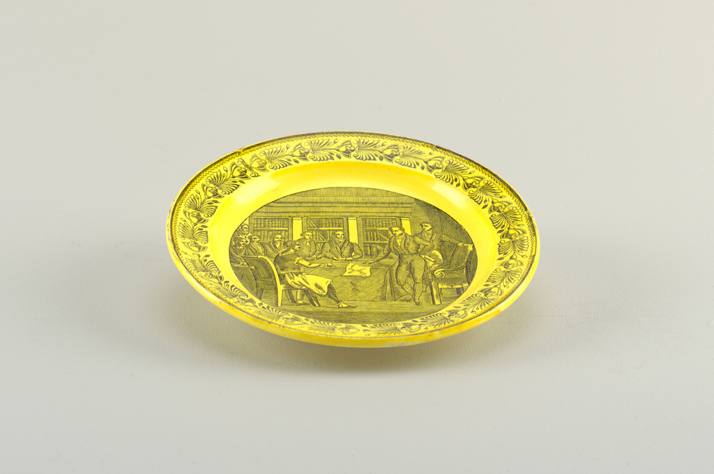 Plate (France), 18th–mid-19th century