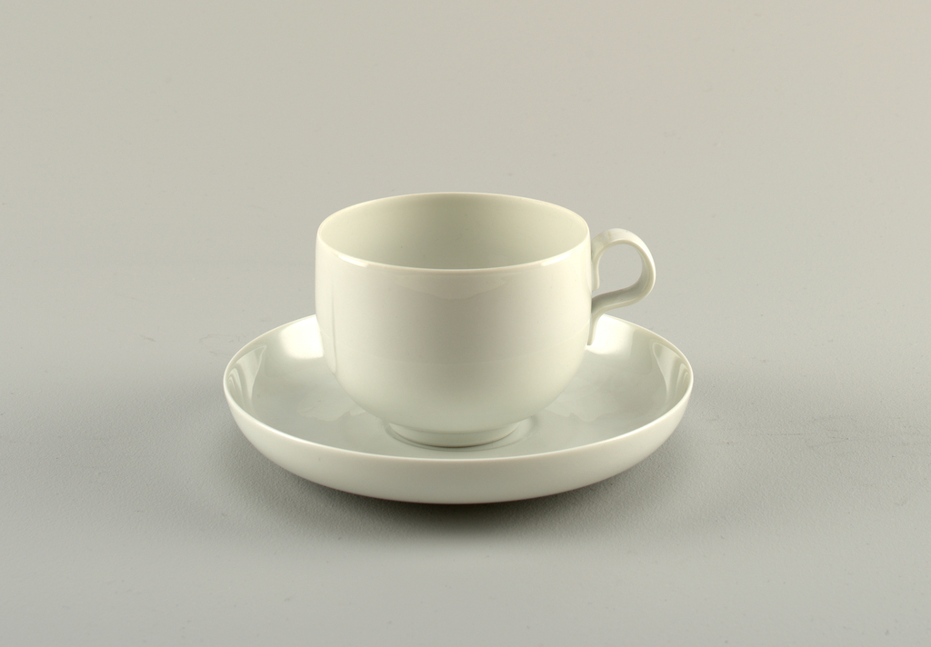 Cup And Saucer (France), ca. 1988