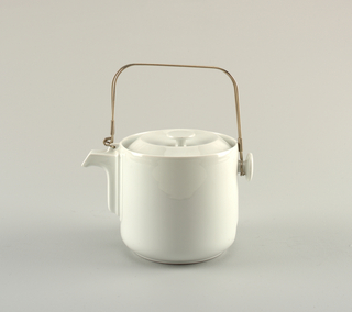 Teapot And Lid (France), ca. 1988